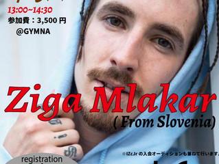 Ziga Mlakar Workshop