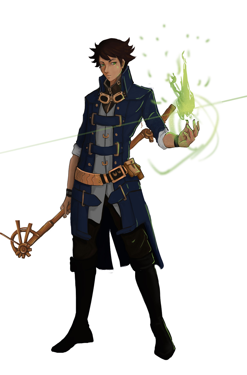 Arion Hunts from The Mage's Son