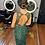 Thumbnail: Vestido de Aluguel Longo Todo Bordado e Transparência VTLIV1024
