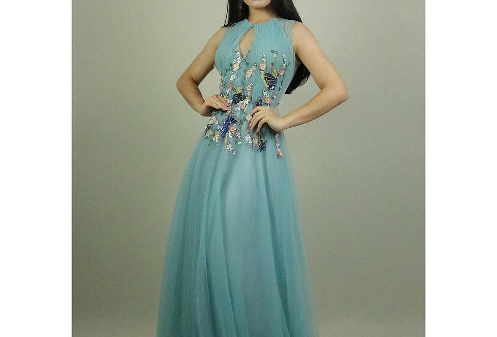 Vestido de Aluguel Saia Princesa Patricia Bonaldi FA21002