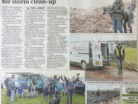 Storm Clean-Up Efforts