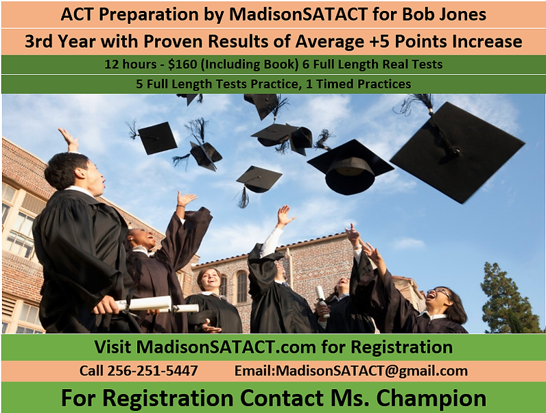 Madison SAT ACT Tutoring