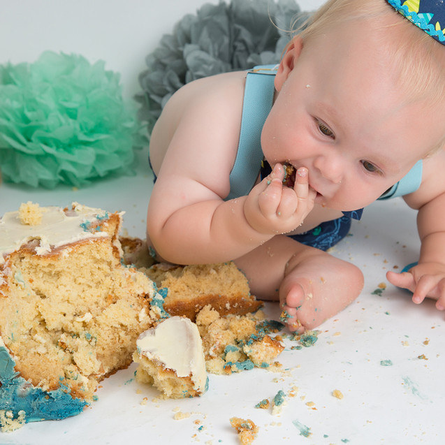 Cake smash Photography Braintree