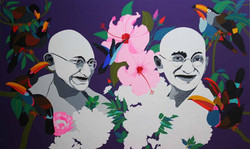 Gandhi Follows Gandhi