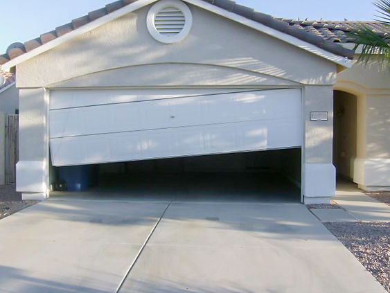 Garage Door Off track, Door Off track, Colorado Garage Door Company, Colorado Garage Door Repair Company, Colorado Garage Door Services,