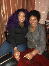 Nia Simmons at Chayz Lounge