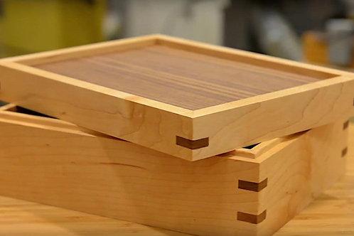 Mitered and Splined Keepsake Box