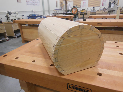 Dovetailed Barrel Chest