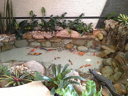 Art lago lagos ornamentais para jardim for Lagos de jardin
