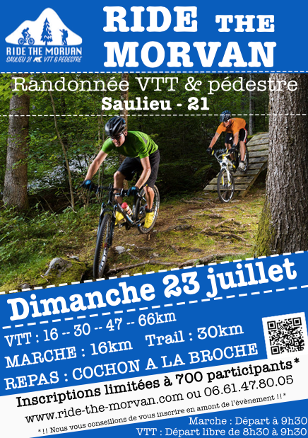 affiche ride the morvan 2017