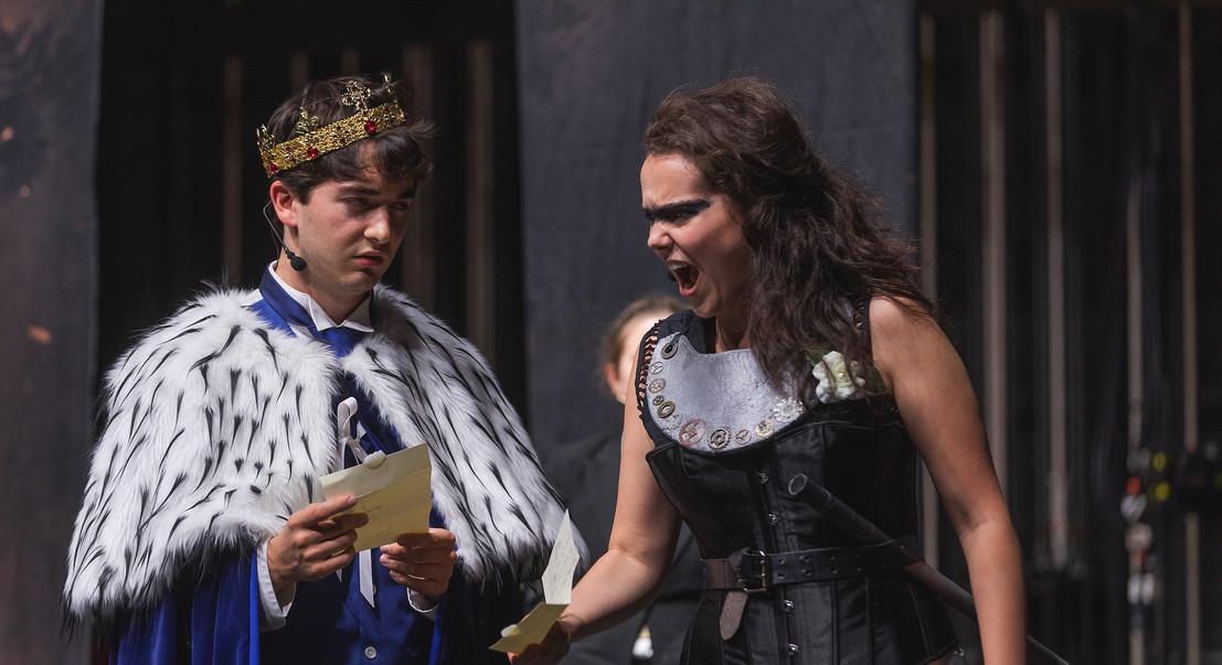 Warwick in HENRY VI, PART III (Commonwealth Shakespeare Co.)