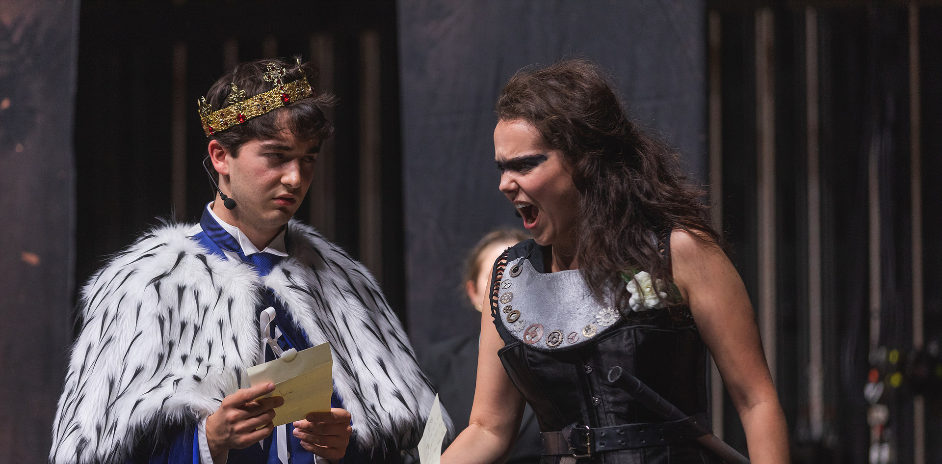 Warwick in HENRY VI, PART III (Commonwealth Shakespeare Co.)