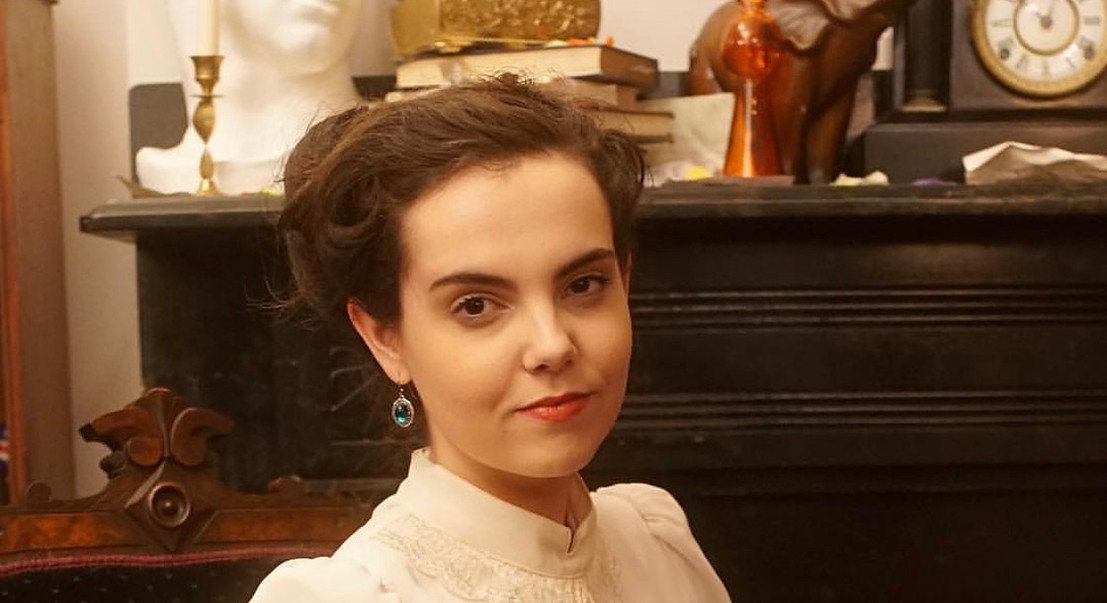 Mary Watson in SHERLOCK HOLMES AND THE ADVENTURE OF THE FURTIVE FESTIVITY