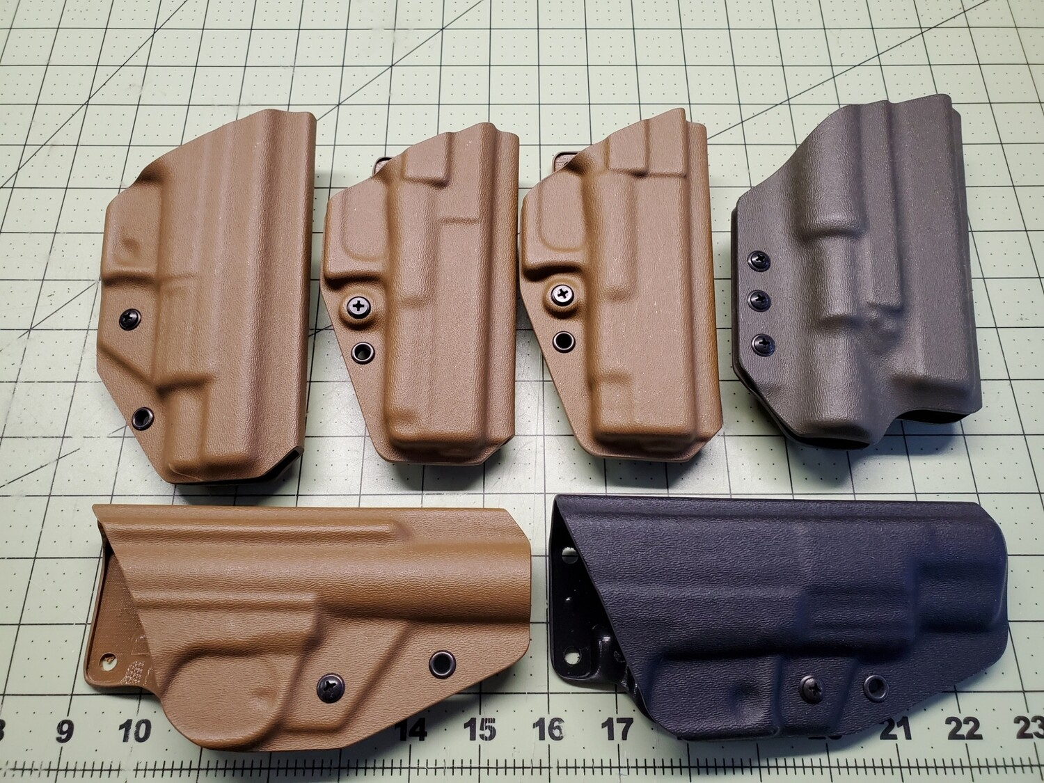 various bino holsters