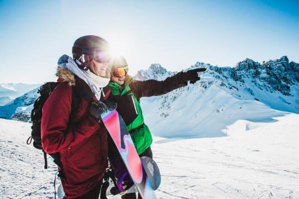 Sie erreichen mehrere Skigebiete in unter 30 Minuten