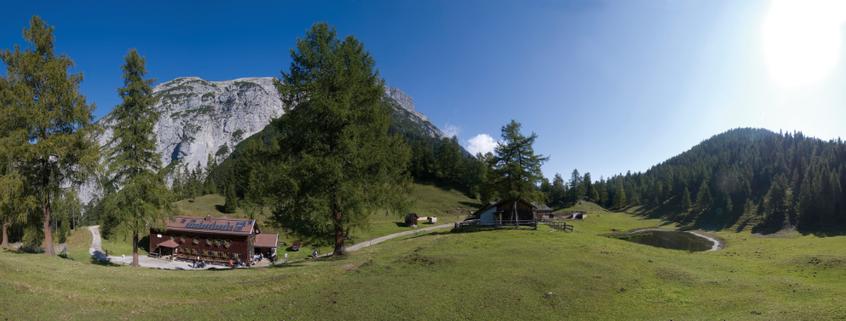 Das Solsteinhaus bietet Übernachtungsmöglichkeiten für ambitionierte Wanderer