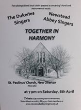 The Dukeries Singers & Newstead Abbey Singers Together