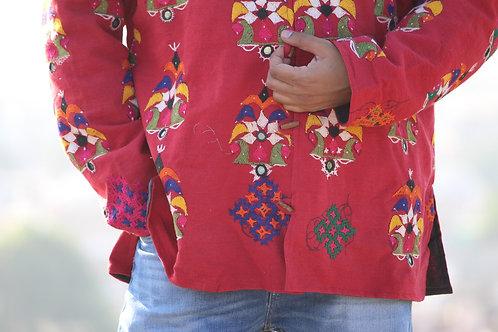 Kotsa   Kantha Jacket   Recycle Jacket   Upcycle Jacket   Cotton Jacket  KVJ32