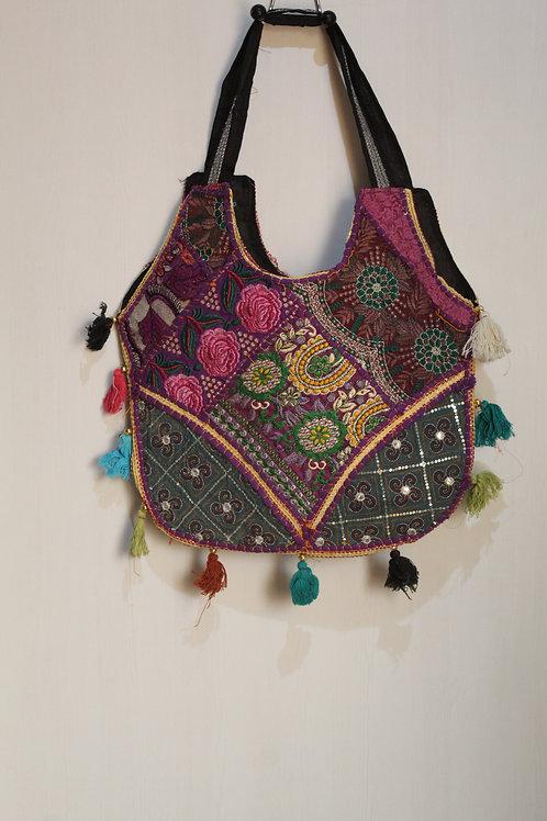 Kotsa Handmade Shoulder Boho Bags | Kotsa Gypsy Bag | Tribal Bag | KSB08