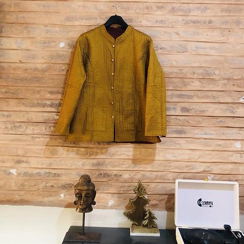 Handmade kantha proper reversible jackets unisex kotsa