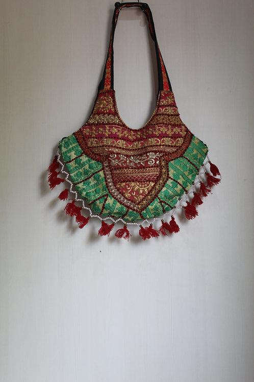 Kotsa Indian Handmade Tote Banjara Shoulder Sling Casual Sling G
