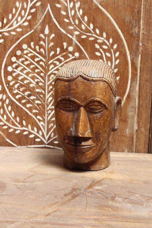 Kotsa Vintage Human Face Statue | Living Room Human Face Statue K24