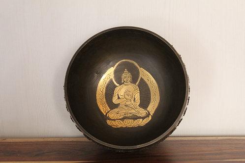 Kotsa | Water Therapy Bowl | Singing Bowl | Meditation Bowl | Chakra KSB09