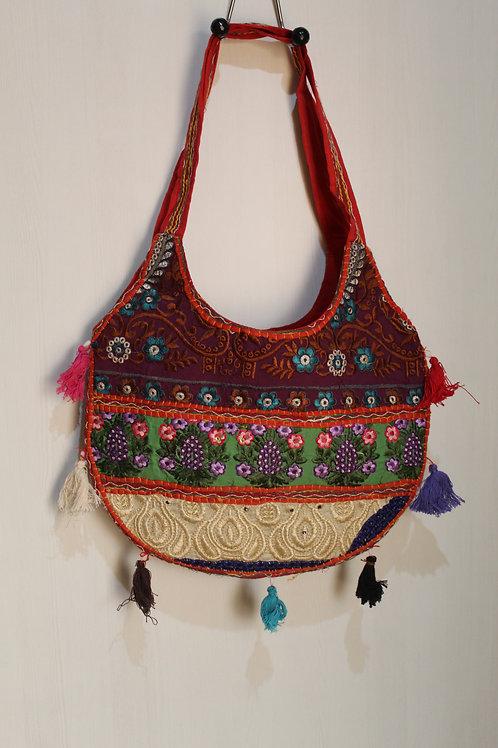 Kotsa Handmade Shoulder Boho Bags | Kotsa Gypsy Bag | Tribal Bag | KSB05