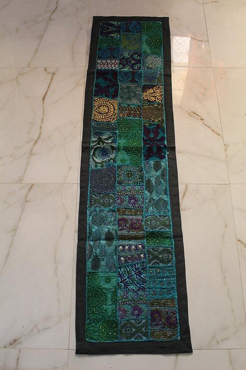 Kotsa Wall Hanging | Indigo Wall Hanging | Embroiddery Multi Pattern  Tapes