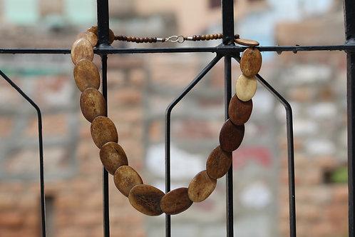 Kotsa Original Old Collectible  Necklace, Antique Ancient Beads Necklace