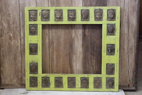 Kotsa Vintage Designer Wall Decor Frame Art   Wooden Human Face Decor Frame K22
