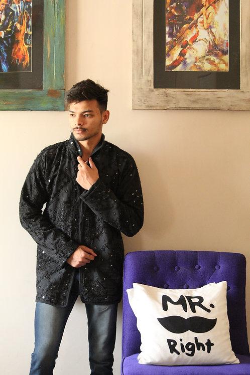Kotsa Reversible kantha Jacket | Unisex Jacket | Gypsy Jacket | KVJ07B