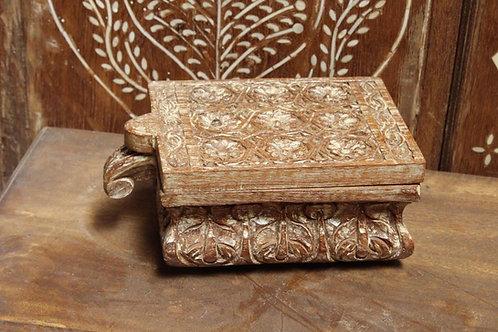Kotsa Vintage Unique Kitchen Spice Box   Wooden Designer Masala Box K07
