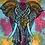 Thumbnail: Kotsa Cotton Single Mandala Bedsheets | Elephant Pattern | Handmade Print | B23