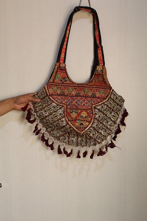 Kotsa Handmade Shoulder Boho Bags | Kotsa Gypsy Bag | Tribal Bag | KSB17