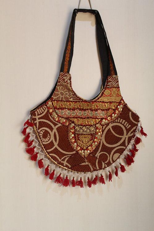 Kotsa Handmade Shoulder Boho Bags | Kotsa Gypsy Bag | Tribal Bag | KSB20