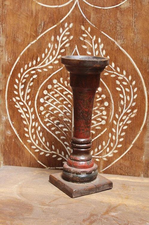 Kotsa Vintage Unique Flower Stand   Wooden Flower Stand For Home Decor K06