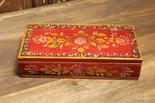 Kotsa Indian Vintage Masala Box   Wooden Spice Box   Designer Masala Box K14