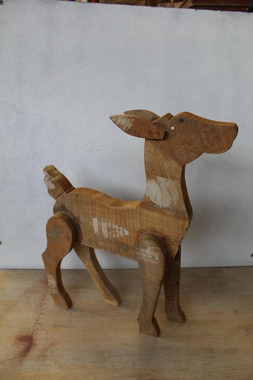 Handicraft Deer Statue   Room Decorative Deer Artwork   Handmade Chinkara K80