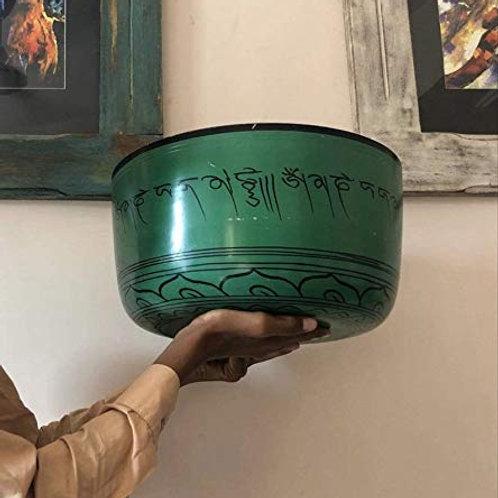 Kotsa Chakra Healing singing bowl   Tibetan Music Bowl   Handbeaten Chakra KSB26
