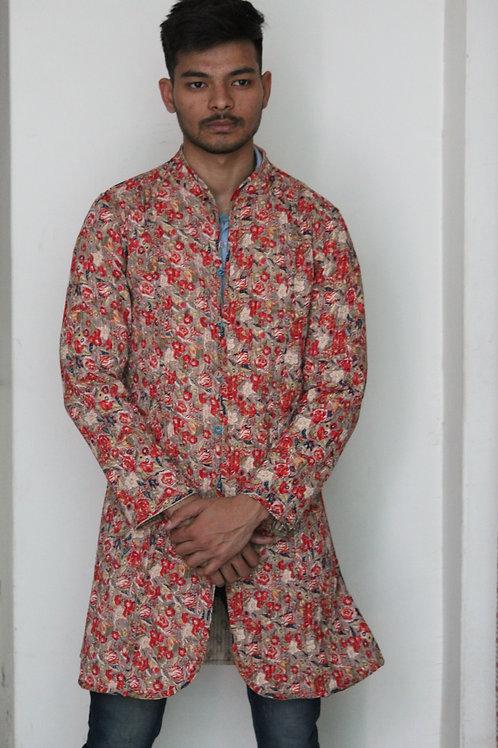 Kotsa Reversible Kantha Jacket   Unisex Dress   Vintage Banjara Dress   KVJ05