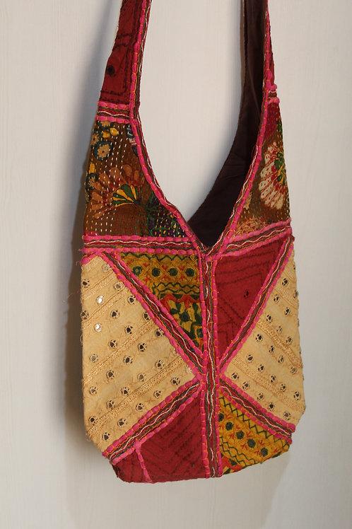 Kotsa Handmade Shoulder Boho Bags | Kotsa Gypsy Bag | Tribal Bag | KSB04