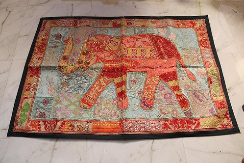 Kotsa Wall Hanging | Elephant Wall Hanging | Big Tapestry Elephant Pattern KT01