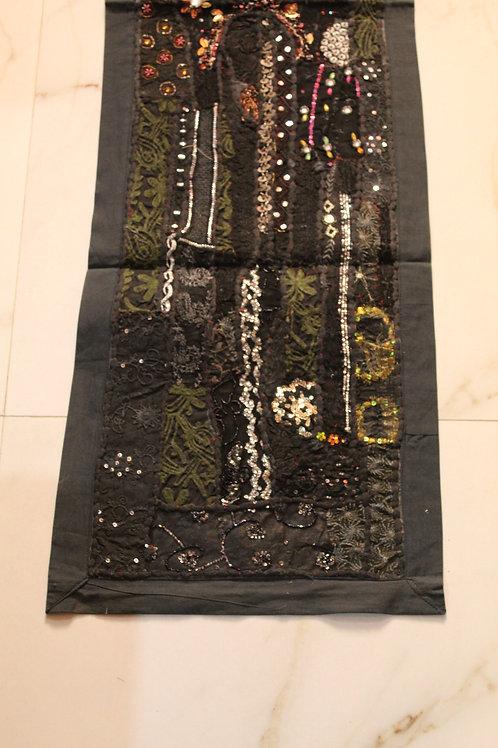 Kotsa Wall Hanging | Blackl Wall Hanging | Embroiddery Tapestry Pattern KT03