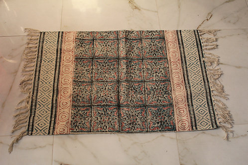 Kotsa New Carpet For Bedroom | Stripe Pattern Carpet | KC01