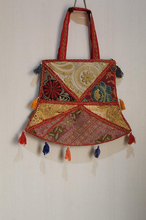 Kotsa Handmade Shoulder Boho Bags | Kotsa Gypsy Bag | Tribal Bag | KSB06