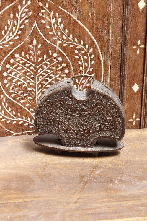 Kotsa Vintage Decor  | Wooden Dark Brown Decor | Living Room Decor K33