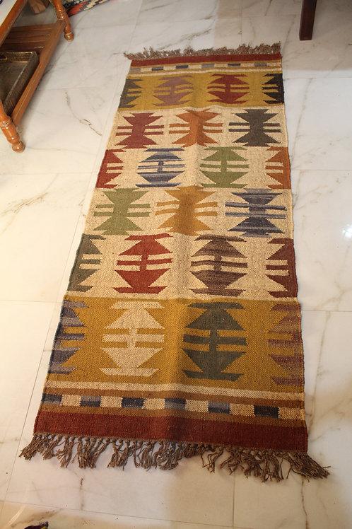Kotsa New Carpet For Bedroom   Multi Color Pattern Carpet   KC05