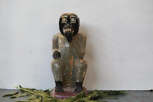 Indian Vintage Unique Home Decor Decorative Corner Monkey Statue