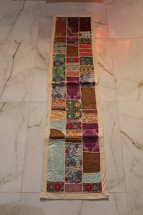 Kotsa Wall Hanging | Red Wall Hanging | Embroiddery Multi Pattern  Tapestry KT05